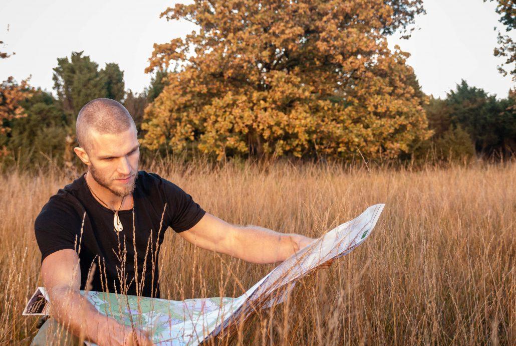 kaart lezen Dwingelerveld