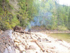 bivak hiking Canada